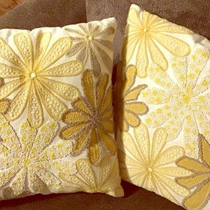 Set of 2 Throw Pillows From Pier 1